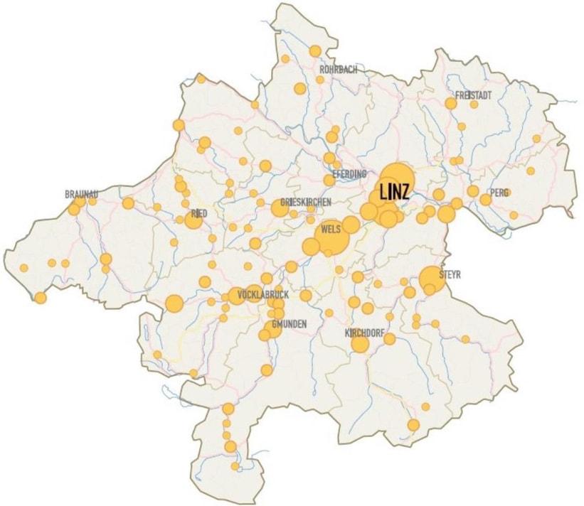 Industrielandkarte